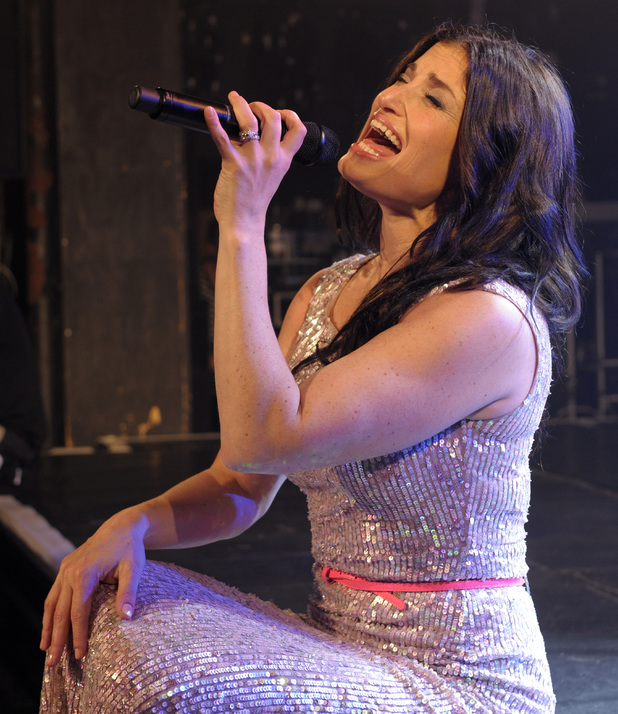 Idina Menzel performs at G-A-Y London.