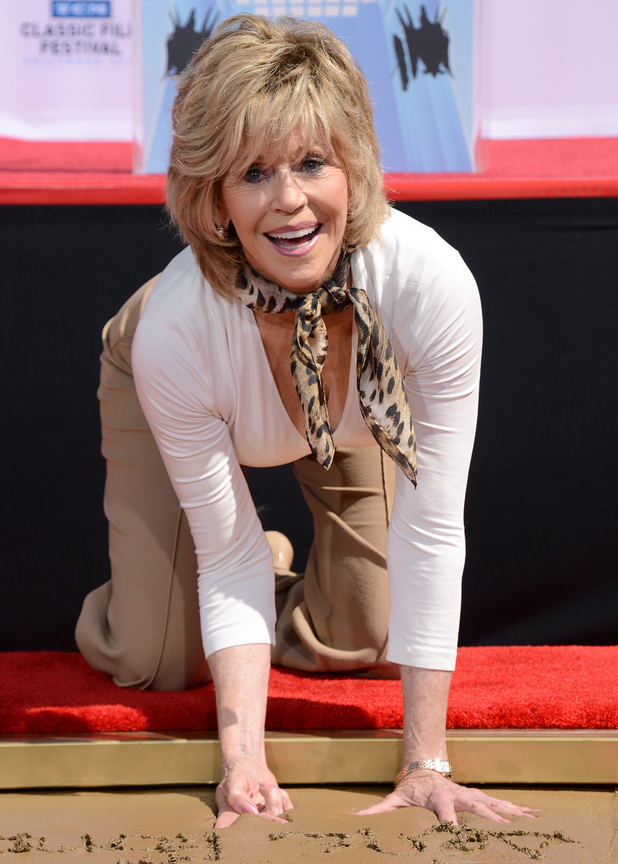Jane Fonda: Hand and Footprint Ceremony