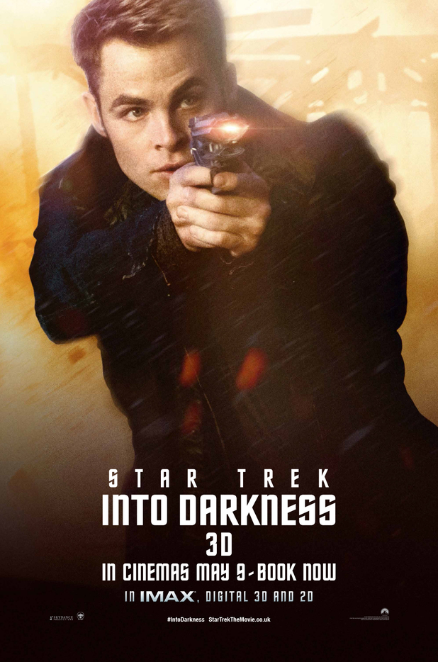 'Star Trek Into Darkness' Kirk poster