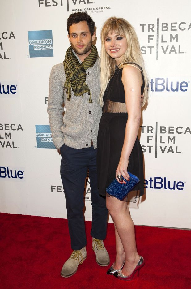 Penn Badgley and Imogen poots