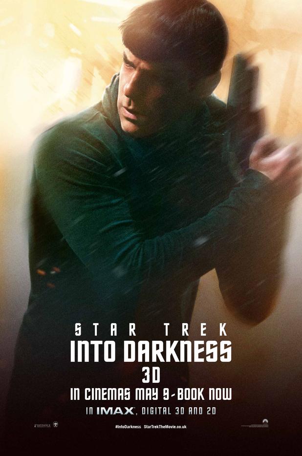 'Star Trek Into Darkness' Spock poster