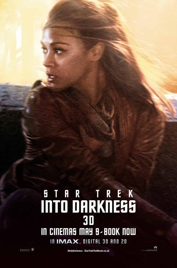 'Star Trek Into Darkness' Uhura poster
