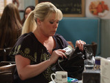 Sharon takes out the painkillers that she stole from Tanya's house.