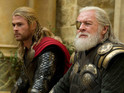 Hopkins reprises his role as Thor's father Odin in Alan Taylor's sequel.