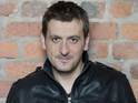Chris Gascoyne says his on-screen son has taught him acting skills.