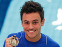 The Olympic diver is currently touring the world as part of a new ITV2 series.