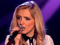The Voice UK coach shares an intimate moment during the Battle Rounds.