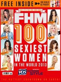 FHM 100 Sexiest Women in the world 2013 cover