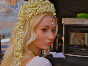 Iggy Azalea behind the scenes of new 'Bounce' music video.