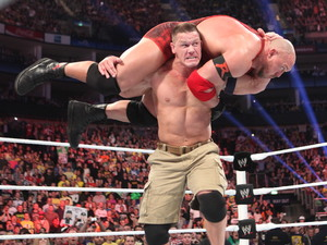 John Cena & Ryback at WWE Raw at The O2 in London