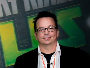 Kevin Eastman - co-creator of the Teenage Mutant Ninja Turtles.