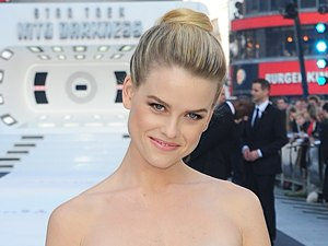 Alice Eve arriving for the premiere of Star Trek Into Darkness at the Empire Leicester Square, London.