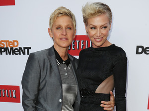 Portia de Rossi, Ellen Degeneres, Netflix's Arrested Development' Season 4 premiere, Los Angeles