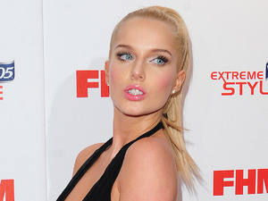 Helen Flanagan arrives at FHM's 100 Sexiest Women in the World Party