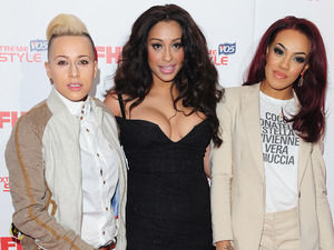 Stooshe arrive at FHM's 100 Sexiest Women in the World Party