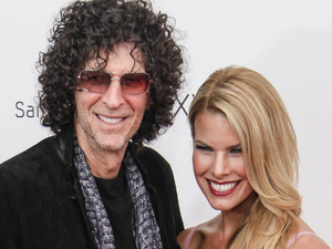 Howard Stern and his wife Beth