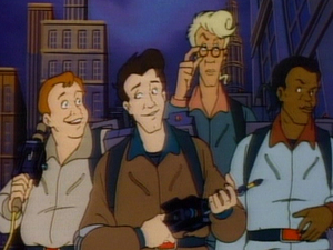 A still from 'The Real Ghostbusters'