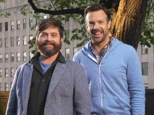 Zach Galifianakis and Jason Sudeikis on 'SNL'