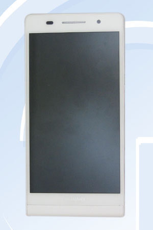 Leaked pic of Huawei's P6-UO6 smartphone