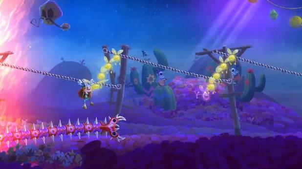 Rayman Legends - Mariachi Madness level