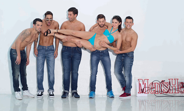 Men's Health's Six-Pack Challenge: Group shot