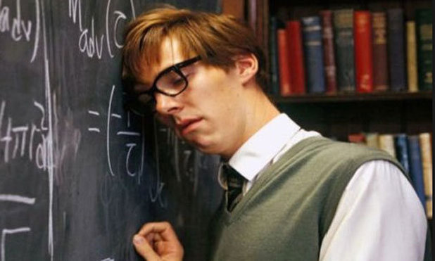 Benedict Cumberbatch in 'Hawking' (2004)
