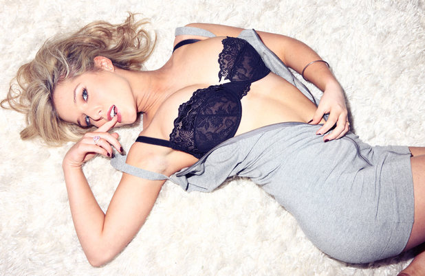 Helen Flanagan in an FHM photoshoot
