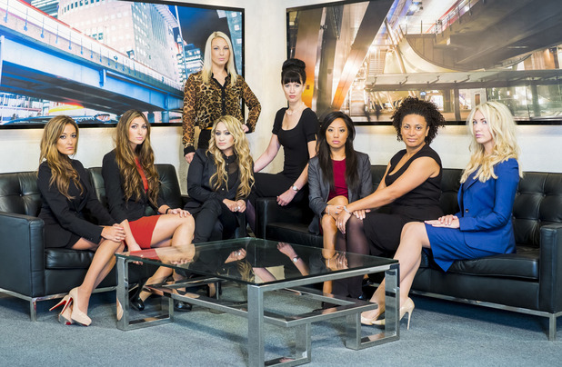 The female candidates in series nine of 'The Apprentice'.