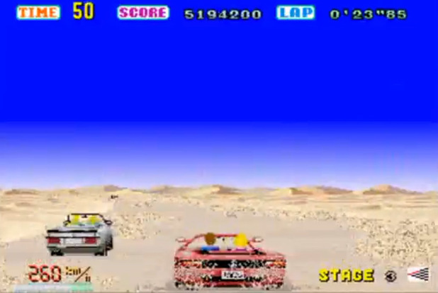 Sega 'OutRun' screenshot