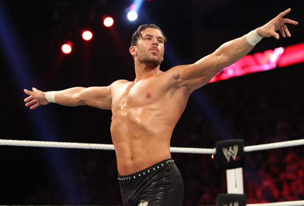 Fandango at WWE Raw at The O2 in London