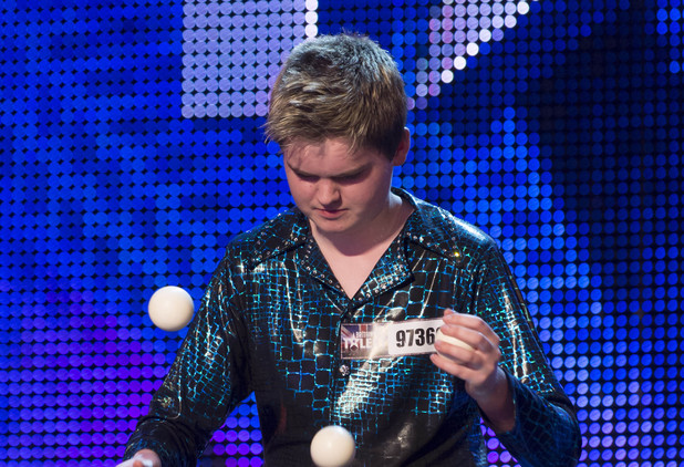 Britain&#39;s Got Talent Episode 4: Thomas Bounce