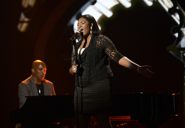 Candice Glover performs on 'American Idol' semi-final