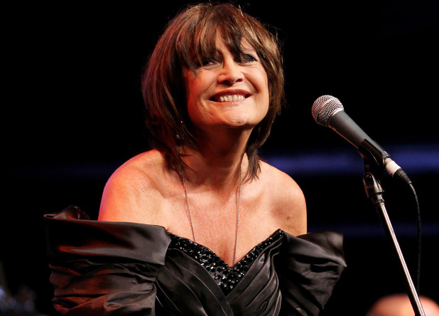 Sandie Shaw performs at the Vintage Festival 2010
