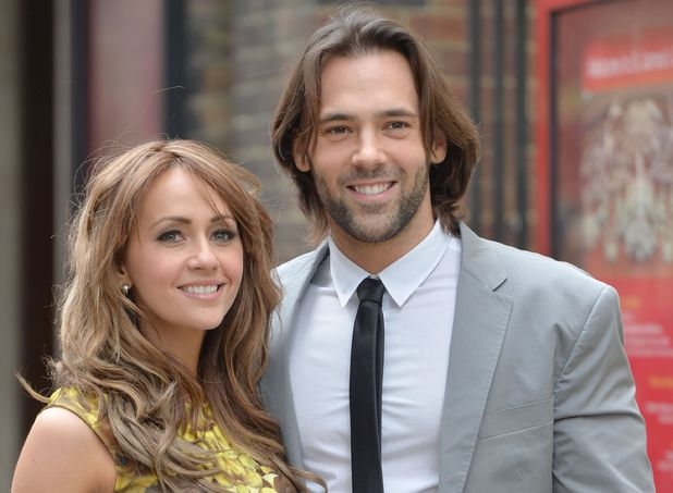 Samia Ghadie and Sylvain Longchambon at the wedding of Helen Worth and Trevor Dawson.