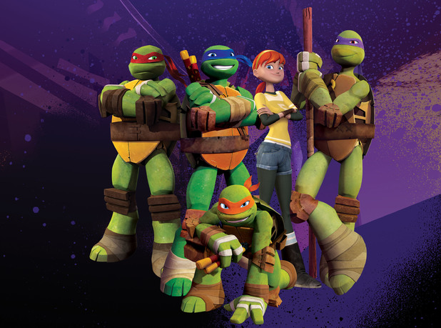 Teenage Mutant Ninja Turtles Nickelodeon 2012
