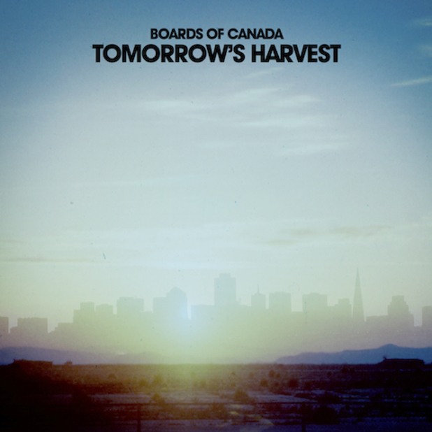 Boards of Canada album cover for Tomorrow's Harvest