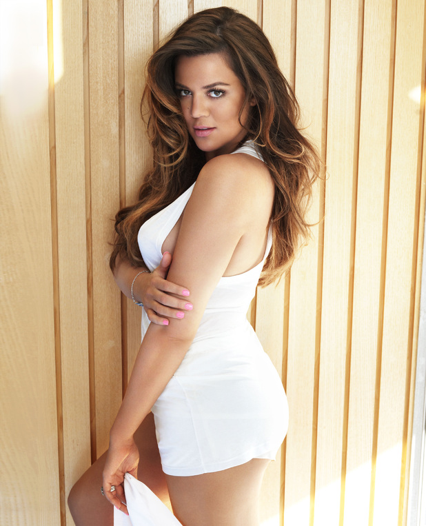 Khloe Kardashian photo shoot for Cosmopolitan magazine