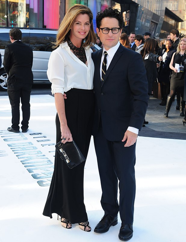 JJ Abrams and wife Katie arriving for the premiere of Star Trek Into Darkness at the Empire Leicester Square, London.