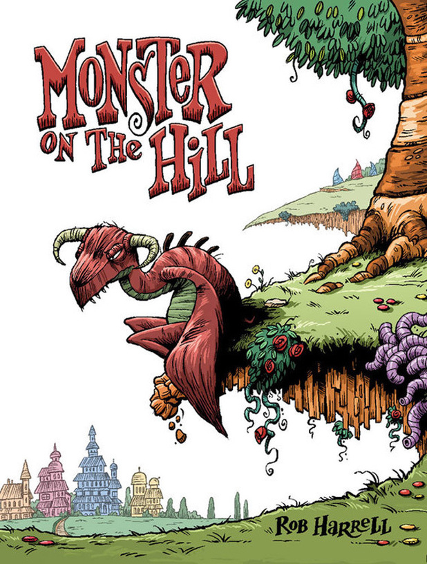 'Monster on the Hill' teaser artwork