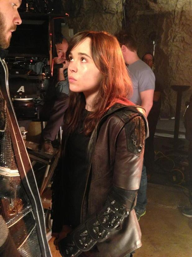 X-Men Days of Future Past Ellen Page Kitty Pryde