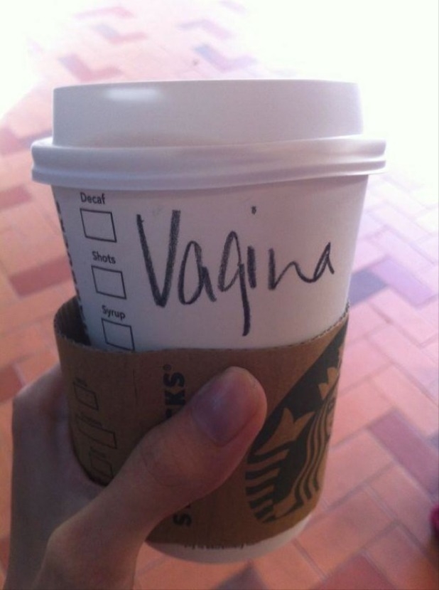 Starbucks misspells name 'Virginia' as 'Vagina' on cup