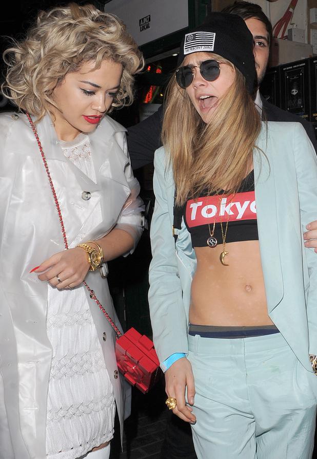 Cara Delevingne, Rita Ora