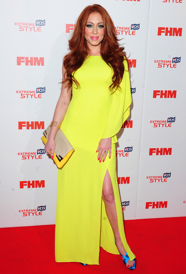Natasha Hamilton arrives at FHM's 100 Sexiest Women in the World Party