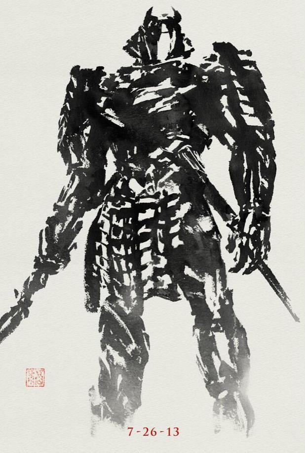 The Wolverine Silver Samurai poster