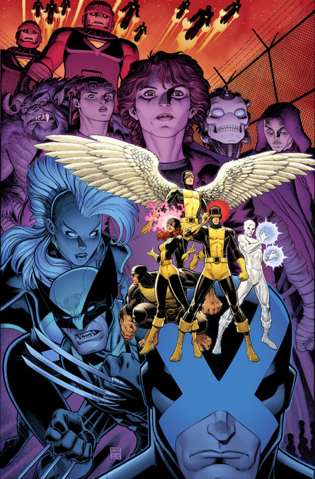 'X-Men: Battle of the Atom' teaser artwork