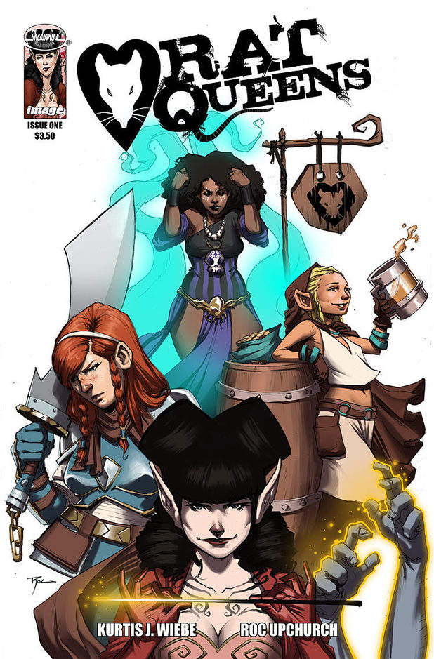 'Rat Queens' #1 cover artwork