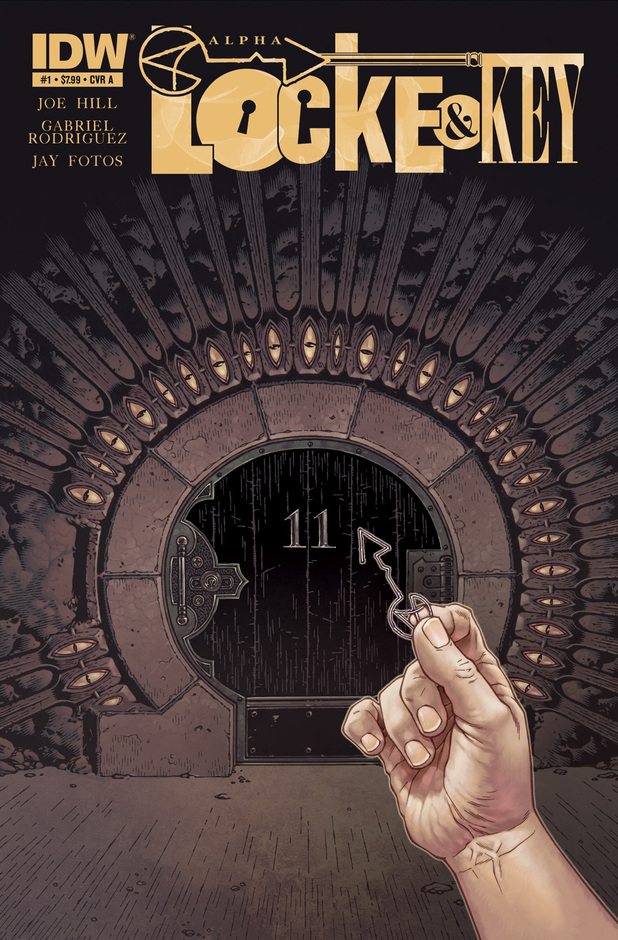 Locke & Key 'Alpha' issue artwork