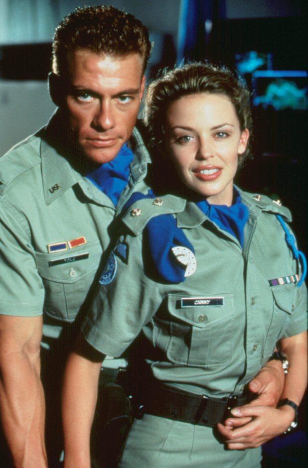 Jean-Claude Van Damme couple