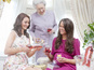Kate Middleton lookalike baby shower