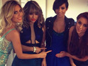 The Saturdays celebrate Frankie Sandford's baby news on Instagram.